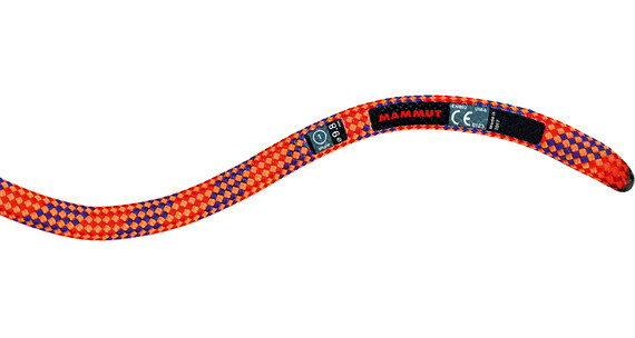 Mammut 9.8 Eternity Dry Rope 50m neon orange-violet